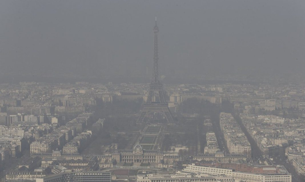 contaminacion francia paris