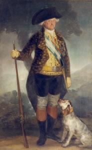 Carlos IV en vestido de la caza