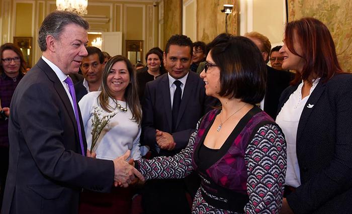 Premio Nobel por la paz, otorgado al presidente Juan Manuel Santos.  Premio Nobel por la paz, otorgado al presidente Juan Manuel Santos. Foto: Facebook Juan Manuel Santos