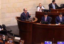 Julio Borges ante el Congreso colombiano