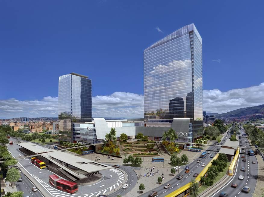 Bogot am rica centro de negocios se construye bajo el for El concepto de arquitectura