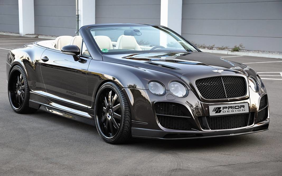 Bentley Continental GT descapotable