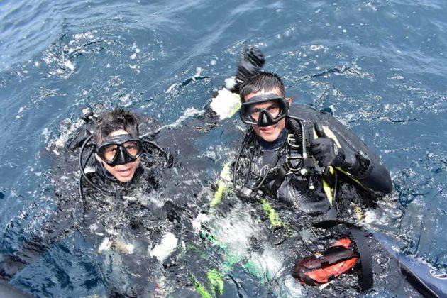 Buzos de la Armada Nacional aportan a la investigación marina 1