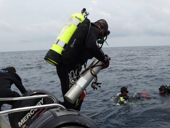 Buzos de la Armada Nacional aportan a la investigación marina 10