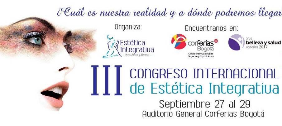 III CONGRESO INTERNACIONAL DE ESTÉTICA INTEGRATIVA1