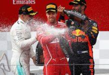 Bottas Vettel Ricciardo GP Austria