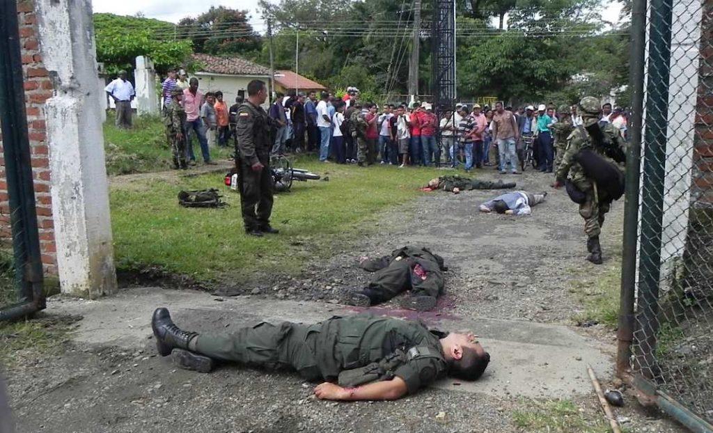 Ataque en Caloto, Cauca
