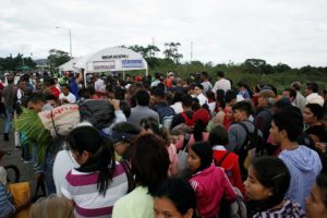 venezolanos migran