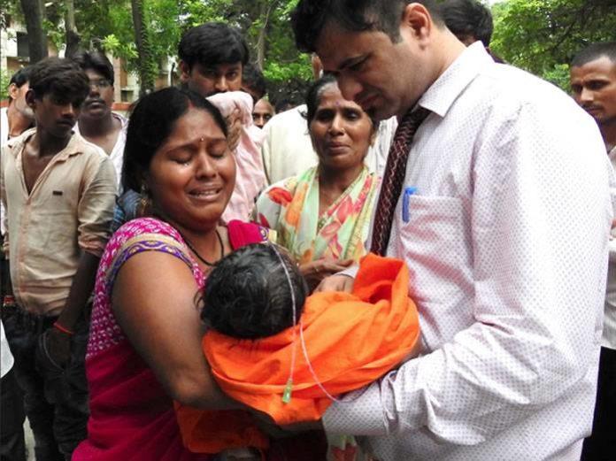 60 niños fallecieron india