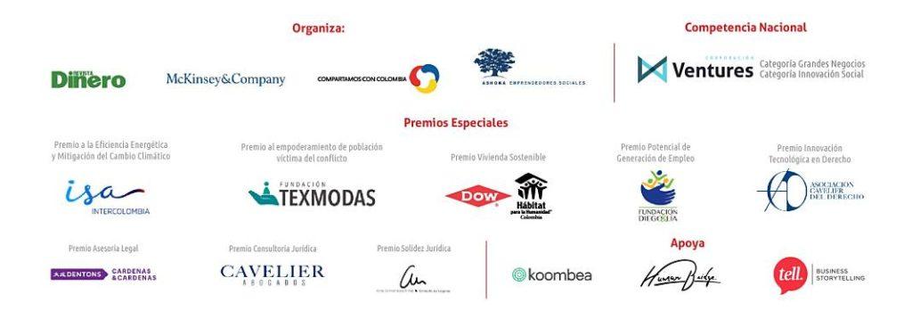 Concurso Nacional de Emprendedores patrocinadores