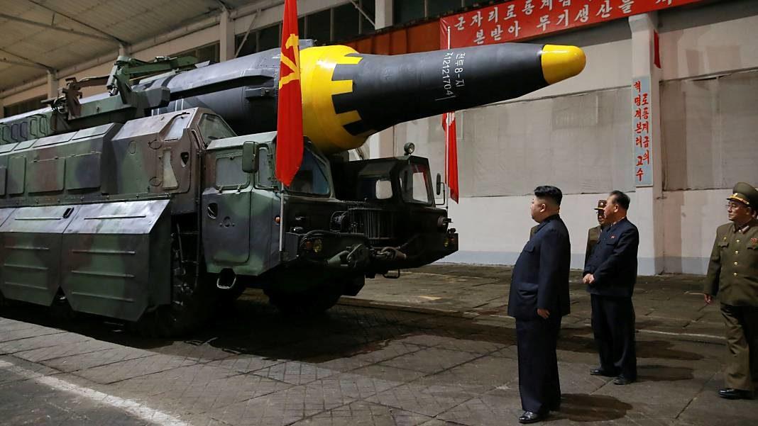 Corea del Norte estados unidos misil