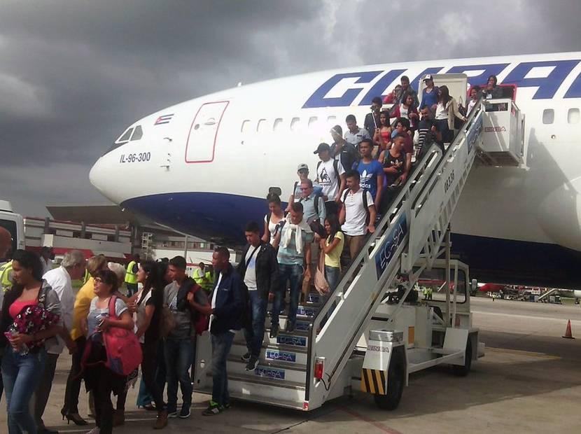 becarios farc Cuba