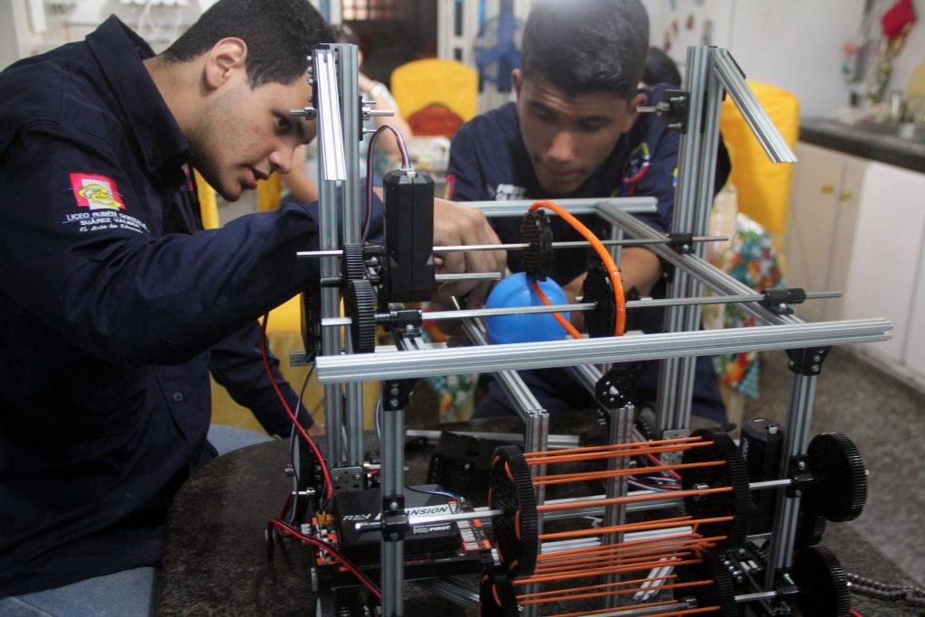 concurso robotica