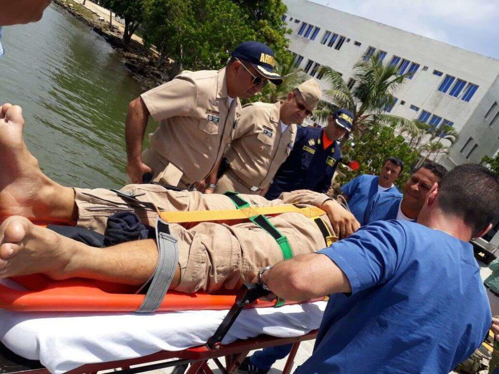 heridos de buque mercante 1