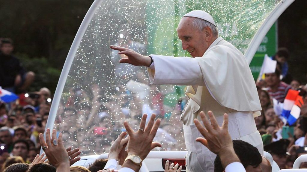 papa francisco visita