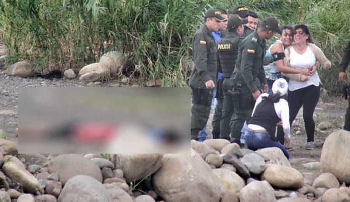 venezelanos asesinados colombia