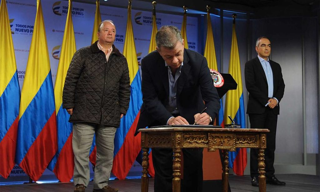 Firma Decreto Cese Fuego ELN