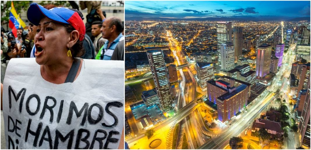 contraste venezuela colombia