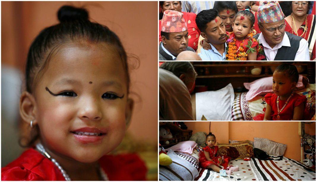 diosa viviente nepal