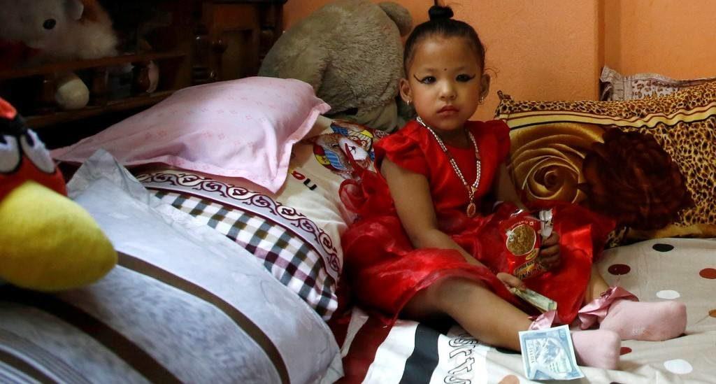 diosa viviente nepal1