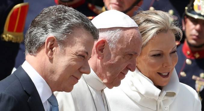 papa francisco santos