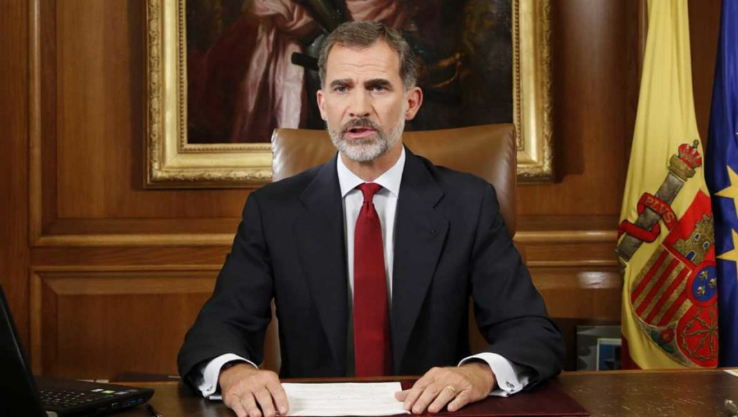 Cataluna discurso rey espana