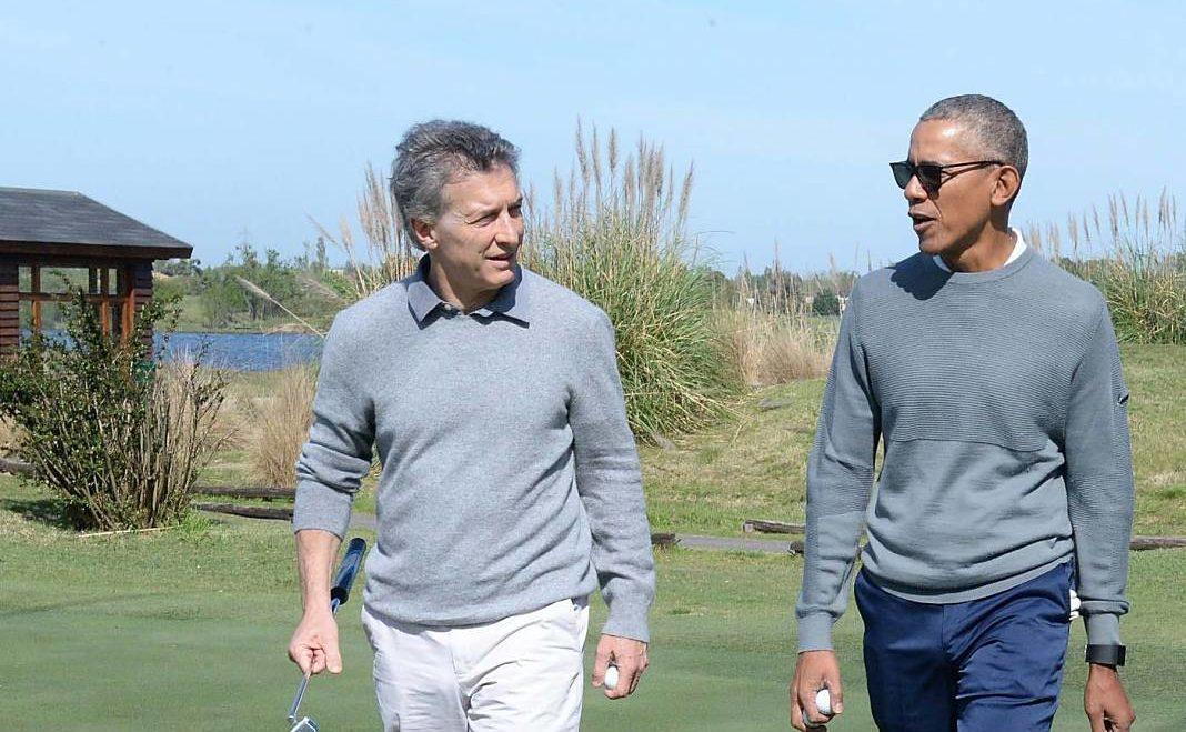 Obama y Macri