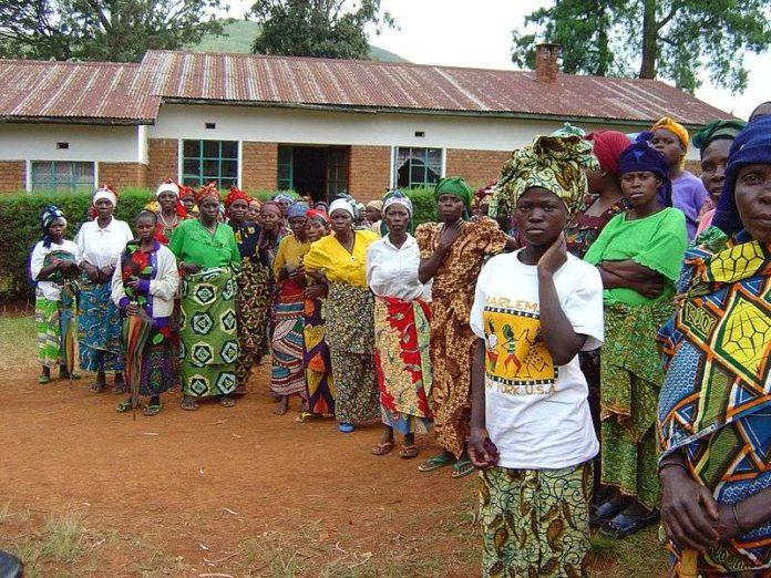 víctimas de violación en Walangu