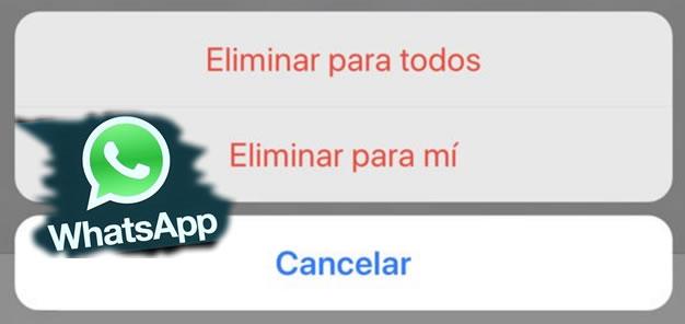 whatapp borrar mensajes