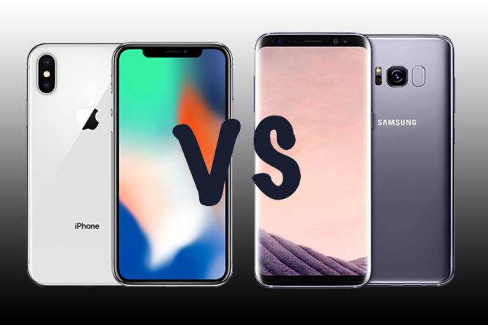 iPhone X vs Samsung Galaxy Note 8: