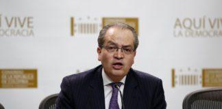 Foto archivo, Fernando Carrillo, Procurador General de la Nación.
