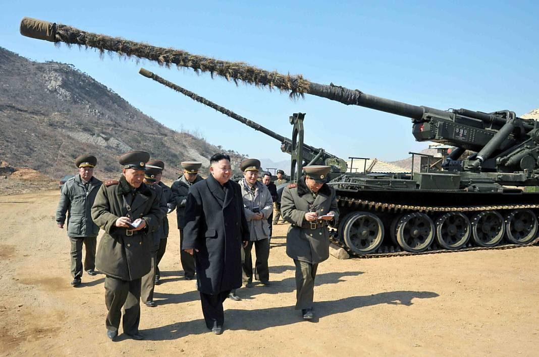 artilleria corea del norte+1