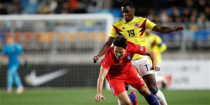 Selección Colombia pierde ante una Corea del sur fulminante.
