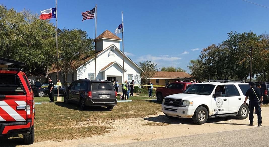 iglesia tiroteo texas+1
