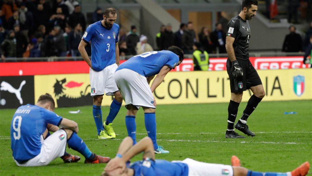 italia fuera del mundial