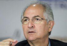 Antonio Ledezma, el ex alcalde de Caracas que huyó de Venezuela