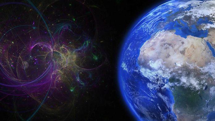 antimateria lluvia cósmica