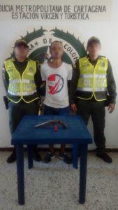 Alias Jago, foto cortesía Policía Mecar.