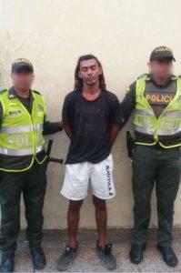 Alias 'Peluca' capturado en Colombiatón.