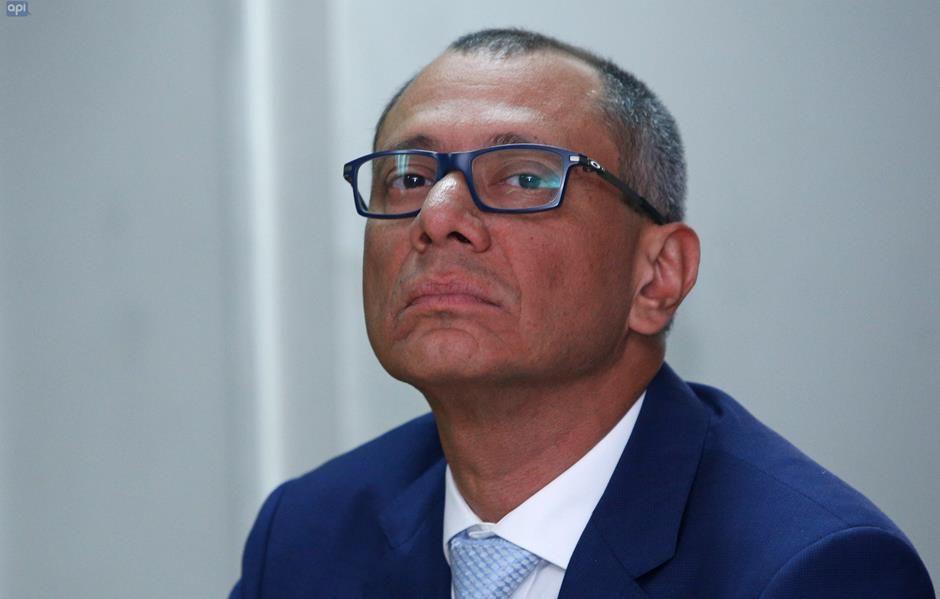 Condenado Vicepresidente Jorge Glas.