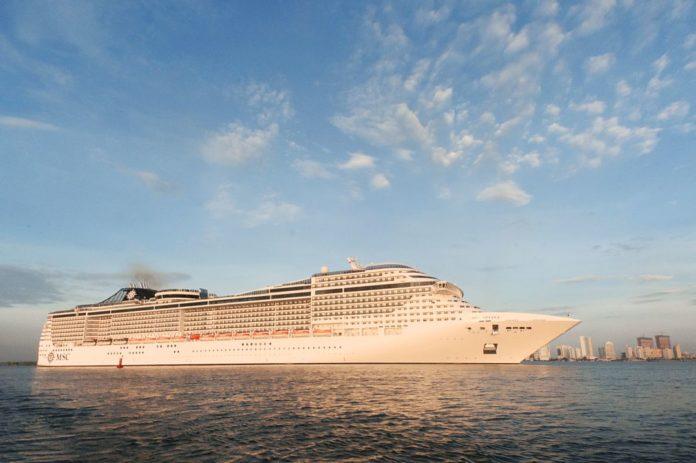 Crucero Divina. Foto cortesía Sociedad Portuaria de Cartagena.