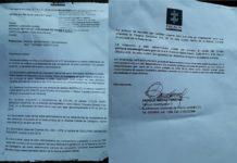 Documento de Fiscalía enviado al alcalde (e) Sergio Londoño Zurek.