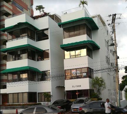 Edificio El Faro en Manga donde vivía Cesar Arrieta Vásquez.