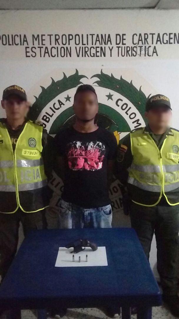 Foto cortesía Policía Mecar, alias Chuky.