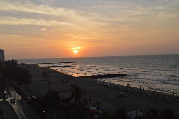 Playas de Bocagrande, foto archivo Periódico El Sol Web.