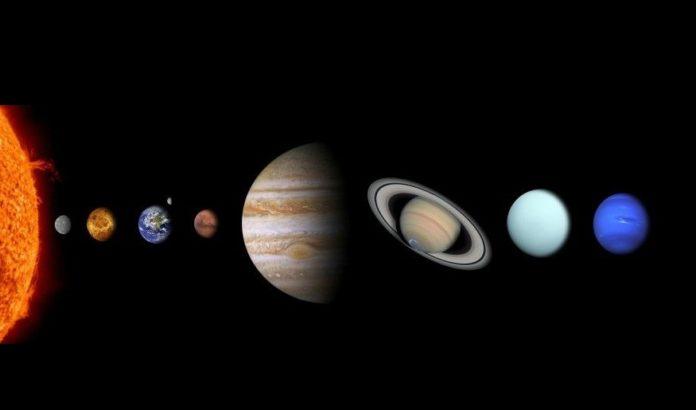 Sistema solar. Por: Comfreak