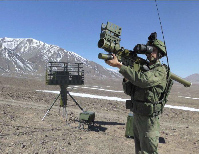 Verba, sistema portátil de misiles de defensa aérea 9K333,. foto / kbm.ru