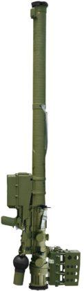 Verba, sistema portátil de misiles de defensa aérea 9K333