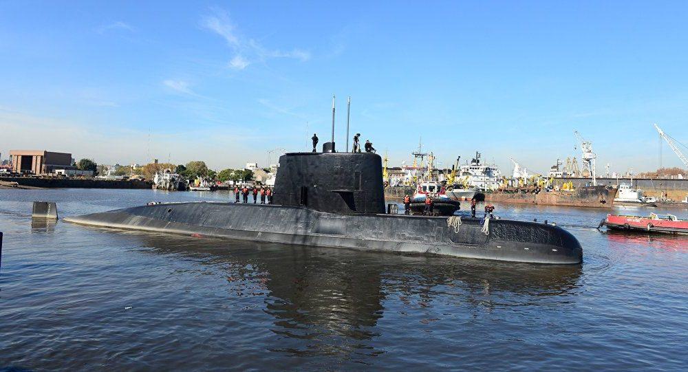 submarino rescate Ara