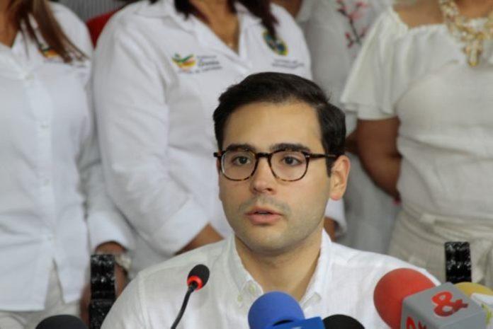 Alcalde (e) de Cartagena, Segio Londoño Zurek. Foto archivo.